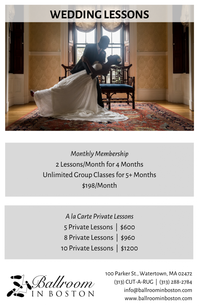 202 Wedding Dance Lessons - Pricing